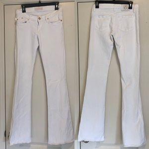Rock & Republic white bootcut leg Jeans size 27x35